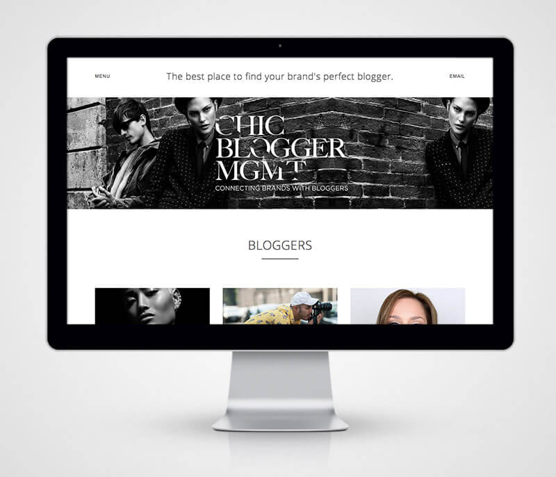 chic blogger management